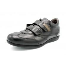 Fluchos 8486 Negro Grafito - Zapato cierre velcro