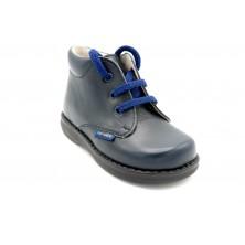 Nenuco 1165 azul - Botita de piel para niño