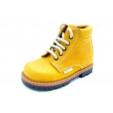 Nenuco 3006 Amarillo - Bota de piel para niño