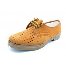 Canos 057 - Zapato de trabajo, pala calada con agujeros
