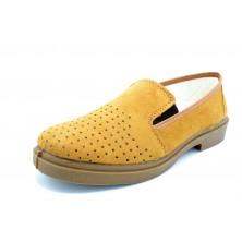 Canos 050 - Zapato de piel calada sin cordones