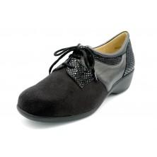 Drucker Calzapedic 29719 - Zapato elástico ancho especial