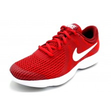 Nike Revolution 4 GS Red - Zapatilla running