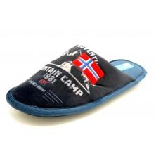 Niagara 4509 - Zapatilla de paño con piso relax