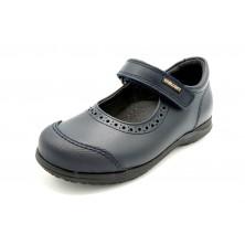 Pablosky 328120 Marino - Zapato colegial de piel