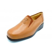 Drucker Calzapedic 934 Marrón - Zapato de piel con abrigo