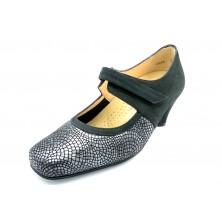 Drucker Calzapedic 24172 Negro - Zapato vestir con plantilla extraible