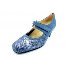 Drucker Calzapedic 24172 Azul - Zapato vestir con plantilla extraible