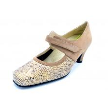 Drucker Calzapedic 24172 Beige - Zapato vestir con plantilla extraible
