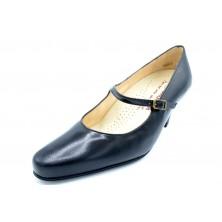 Drucker Calzapedic - Zapato salón con hebilla y plantilla extraible