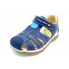 Pablosky 058126 - Sandalia de piel para niños