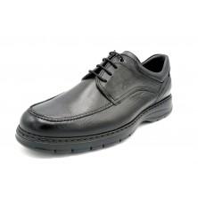 Fluchos Crono 9142 Negro - Zapato cordones piso ultralight