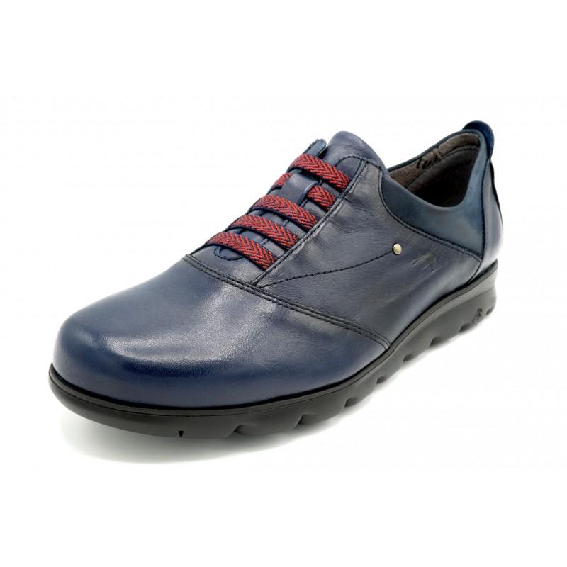 Fluchos Susan F0354 Oceano - Zapato de piel sin cordones