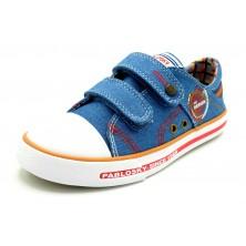 Pablosky 962310 Denim Jeans - Zapatilla de lona con plantilla de piel extraible