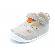 Pablosky 068752 Jungla perla - Zapato de piel para niño primeros pasos