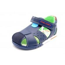 Pablosky 069622 Jungla atlantic - Sandalia de piel primeros pasos para niño