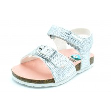 Pablosky 483650 Plata - Sandalia de vestir para niña
