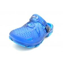 Pablosky 964021 Blue - Zueco de goma para niño
