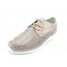 Amarpies AFT17085 Platino - Zapato casual de piel