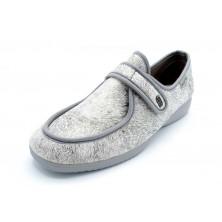Muro 827 gris - Zapatilla elástica pies delicados