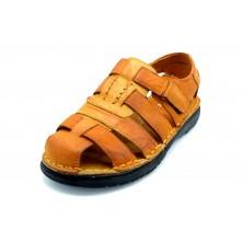 Praylas Iregua cuero - Sandalia de piel para hombre