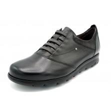 Fluchos Susan F0354 Negro - Zapato de piel sin cordones
