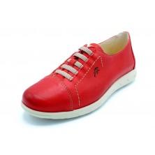Fluchos NUI F0854 Rojo - Zapato sport de piel