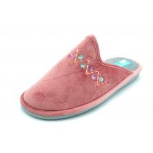 Niagara 4051 rosa - Zapatilla de casa Aloe Vera con piso relax