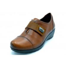 Fluchos MAR F1071 Sugar Cuero - Zapato de piel con cuña