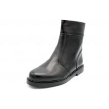 Jovisa 80 Jumbo negro - Bota vestir de piel para hombre