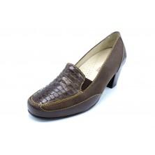 Drucker Calzapedic 29868 Marrón - Zapato de tacón con plantilla extraíble
