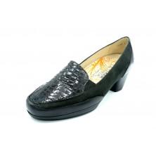 Drucker Calzapedic 29868 Negro - Zapato de tacón con plantilla extraíble