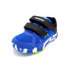 Sweden Kle Trueno azul - Deportivo de nylon con velcro para niño