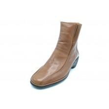 Fluchos 5492 Roca - Botín de piel con cordones