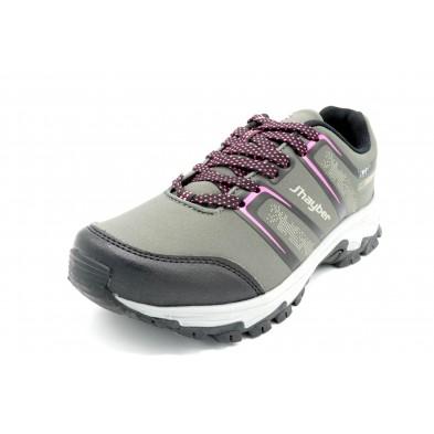 J´Hayber Mecano Grey -Zapatilla de trekking waterproof