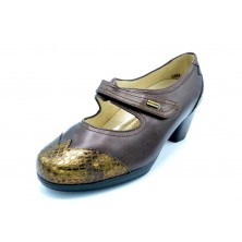 Drucker Calzapedic 23682 Marrón - Zapato anatómico de piel