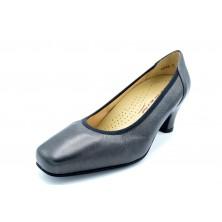 Drucker 24181 Negro - Zapato de tacón con plantilla extraíble