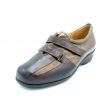 Drucker 28524 Marrón - Zapato anatómico plantilla extraíble