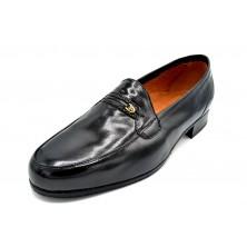 Paco Cantos 326 Negro - Zapato de vestir ancho especial