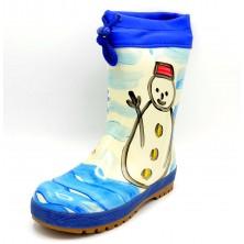 Piolín 412 Azul - Bota de goma