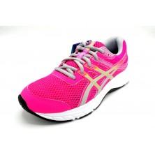 Asics Contend 6 Pink Glo - Zapatilla de running