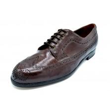 Paco Cantos 1511 marrón - Zapato de piel con suela de cuero
