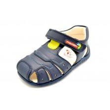 Pablosky 091122 Blue Jeans - Sandalia de piel