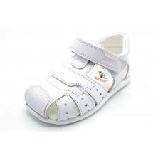 Pablosky 091200 Olimpo blanco - Sandalia de piel