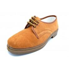 Canos 052 - Zapato de piel serraje para trabajo