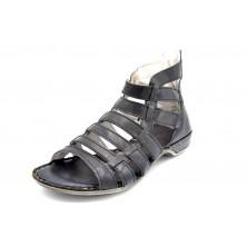 Porronet 5023 Negro - Sandalia de piel