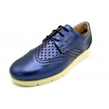 Tamicus 2125 Marino | Zapato de piel con cordones