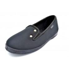 Isasa 328 Licra Negro | Zapatilla elástica | Horma ancha