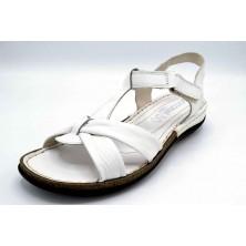 Porronet 5221 Blanco | Sandalia de piel