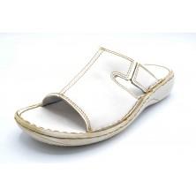 Dorking 3180 Blanco | Sandalia de piel